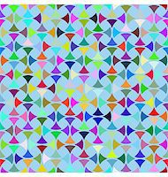 Abstract design with geometric shapes optical illusion illustration Stock Photo - Royalty-Freenull, Code: 400-05318327