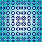 abstract blue seamless pattern, retro texture; vector art illustration