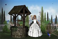 fantastically - The princess wants to turn back their enchanted prince Stock Photo - Royalty-Freenull, Code: 400-05324689