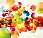 Abstract vector illustration Stock Photo - Royalty-Free, Artist: marinakim                     , Code: 400-05326708