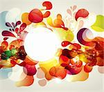 Abstract vector illustration Stock Photo - Royalty-Free, Artist: marinakim                     , Code: 400-05326709