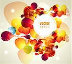 Abstract vector illustration Stock Photo - Royalty-Free, Artist: marinakim                     , Code: 400-05326710