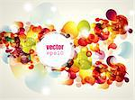 Abstract vector illustration Stock Photo - Royalty-Free, Artist: marinakim                     , Code: 400-05326712