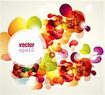 Abstract vector illustration Stock Photo - Royalty-Free, Artist: marinakim                     , Code: 400-05326713