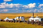 Migration transport in Inner Mongolia, use to migrate from one place to another. Stock Photo - Royalty-Free, Artist: kiankhoon                     , Code: 400-05328134