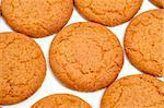 closeup of a pile of biscuits on a white background Stock Photo - Royalty-Free, Artist: nito                          , Code: 400-05332648