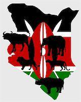 Big Five Kenya Stock Photo - Royalty-Freenull, Code: 400-05337688