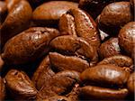 close-up shot of roasted coffee beans Stock Photo - Royalty-Free, Artist: unkreatives                   , Code: 400-05339294