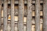 Stacked firewood background Stock Photo - Royalty-Free, Artist: Taigi                         , Code: 400-05342915
