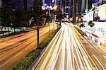 car light in city Stock Photo - Royalty-Free, Artist: leungchopan                   , Code: 400-05348808