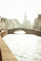 puentes - Channel's of Brugge Stock Photo - Royalty-Freenull, Code: 400-05350282