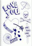 love you sketch