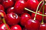 Many red cherry in sunny day Stock Photo - Royalty-Free, Artist: A7880S                        , Code: 400-05352954