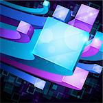 3d bright abstract background Stock Photo - Royalty-Free, Artist: avian                         , Code: 400-05353098