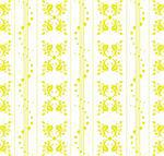 Beautiful seamless floral pattern with polka dots