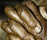 Close up of Praying Hands Stock Photo - Royalty-Free, Artist: janaka                        , Code: 400-05356047