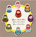 doll card   Stock Photo - Royalty-Free, Artist: notkoo2008                    , Code: 400-05359217