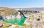Villalcampo dam, Castile and Leon, Spain Stock Photo - Royalty-Free, Artist: phbcz                         , Code: 400-05362181