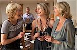 Friends Enjoying A Glass Of Champagne At A Dinner Party Stock Photo - Royalty-Free, Artist: MonkeyBusinessImages          , Code: 400-05364176