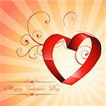 beautiful creative heart background design art