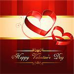beautiful creative vector heart background design