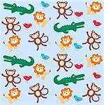 pattern for childrens clothes Stock Photo - Royalty-Free, Artist: chip                          , Code: 400-05368491
