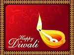 abstract diwali concept wallpaper vector illustration Stock Photo - Royalty-Free, Artist: pathakdesigner                , Code: 400-05371996