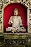 buddha statue in bali indonesia temple Stock Photo - Royalty-Free, Artist: travelphotography             , Code: 400-05372180