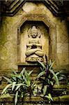 buddha image in bali indonesia garden Stock Photo - Royalty-Free, Artist: travelphotography             , Code: 400-05372196