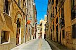 view of a picturesque street of old town of Tarragona, Spain Stock Photo - Royalty-Free, Artist: nito                          , Code: 400-05373337