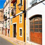 view of a picturesque street of old town of Tarragona, Spain Stock Photo - Royalty-Free, Artist: nito                          , Code: 400-05373428