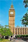 a view of Big Ben and Westminster Palace in London, United Kingdom