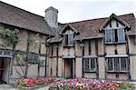 William Shakespeare's Birthplace in Stratford upon Avon, England Stock Photo - Royalty-Free, Artist: sainaniritu                   , Code: 400-05373691