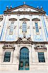church with azulejos (tiles), Porto, Douro Province, Portugal Stock Photo - Royalty-Free, Artist: phbcz                         , Code: 400-05373983