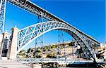 Dom Luis I Bridge, Porto, Portugal Stock Photo - Royalty-Free, Artist: phbcz                         , Code: 400-05373987