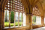 Royal cloister of Santa Maria da Vitoria Monastery, Batalha, Estremadura, Portugal Stock Photo - Royalty-Free, Artist: phbcz                         , Code: 400-05374019