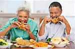 Couple Having Lunch Together At Home Stock Photo - Royalty-Free, Artist: MonkeyBusinessImages          , Code: 400-05374160