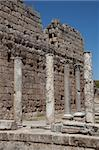 Ancient city of Perge near Antalya Turkey Stock Photo - Royalty-Free, Artist: moscowbear                    , Code: 400-05377620