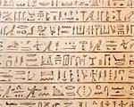 Ancient egyptian hieroglyphics carved in the stone Stock Photo - Royalty-Free, Artist: javimartin                    , Code: 400-05380207