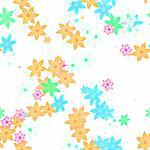 An image of a nice seamless flower background