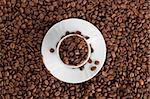 brown coffee Stock Photo - Royalty-Free, Artist: spaxiax                       , Code: 400-05381469