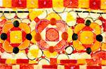 background slices of citrus yellow orange and red Stock Photo - Royalty-Free, Artist: alephcomo                     , Code: 400-05385187