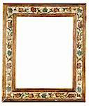 antique frame on a white background Stock Photo - Royalty-Free, Artist: alephcomo                     , Code: 400-05385208