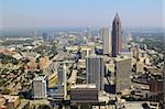 Aerial view of urban skyscrapers in downtown Atlanta, Georgia, USA. Stock Photo - Royalty-Free, Artist: sepavo                        , Code: 400-05386940