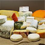 cheese still life Stock Photo - Royalty-Free, Artist: phbcz                         , Code: 400-05387165