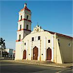 San Juan Bautista de Remedios's Church, Parque Marti, Remedios, Cuba