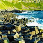 Giant's Causeway, County Antrim, Northern Ireland Stock Photo - Royalty-Free, Artist: phbcz                         , Code: 400-05387262