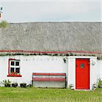 cottage, Malin Head, County Donegal, Ireland Stock Photo - Royalty-Free, Artist: phbcz                         , Code: 400-05387277
