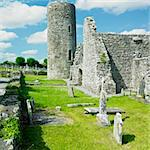 ruins of Drumlane Monastery, County Cavan, Ireland Stock Photo - Royalty-Free, Artist: phbcz                         , Code: 400-05387283