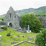 ruins of Murrisk Abbey, County Mayo, Ireland Stock Photo - Royalty-Free, Artist: phbcz                         , Code: 400-05387285